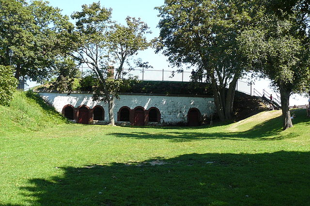 Fort Sewall; photo by Zandcee