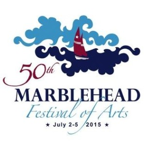 Maria del Cielo Ramirez Tomic contest-winning logo for the 2015 Marblehead Festival of Arts COURTESY PHOTO