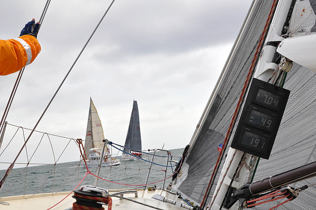 Yacht race photo D Ramey Logan. Author WPPilot